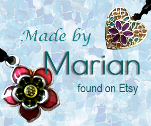 Resin Jewellery Made by Marion